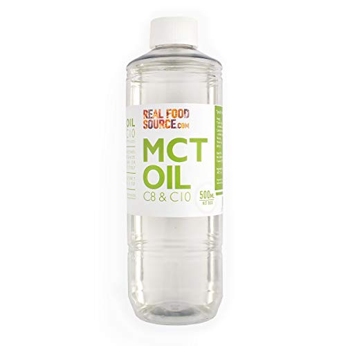 RealFoodSource MCT Oil C8 & C10 500ml from Coconut