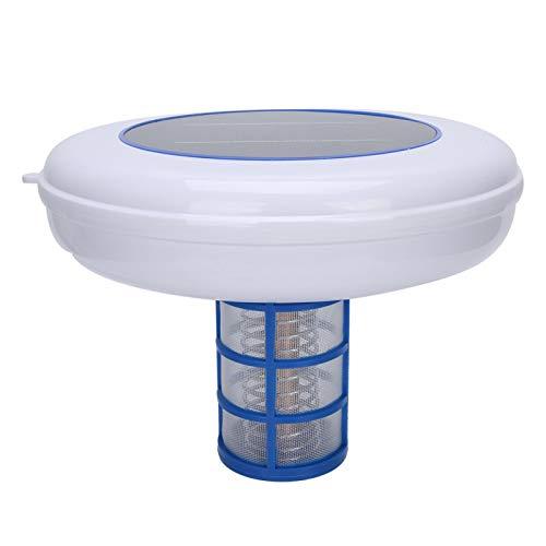 Omabeta Purificador de Piscina de energía Solar Ionizador de Piscina Seguro y ecológico Purificador de Agua de Piscina fácil de Usar para Estanque Exterior Fuente de SPA
