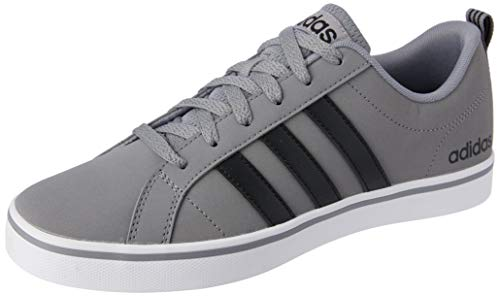 Adidas Vs Pace, Zapatillas para Hombre, Gris (Grey/Core Black/Footwear White 0), 43 1/3 EU