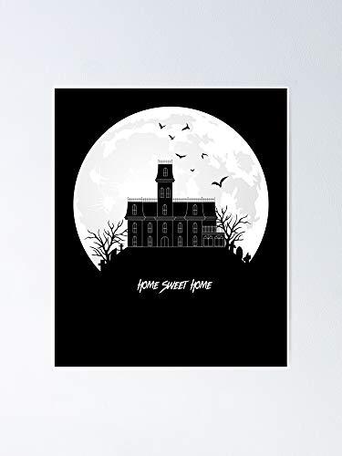 Home Sweet - Póster de casa embrujada para decoración de sala de juegos, imprimibles para niños, arte de pared de guardería, decoración de habitación para imprimir.