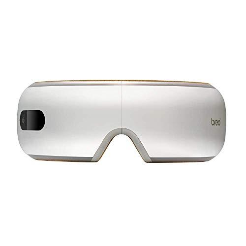 Breo iSee4 Eye Massager with Heat Air Pressure, Electric Shiatsu Massager for Dry Eye, Eye Strain, Eye Fatigue Relief & Better Sleep