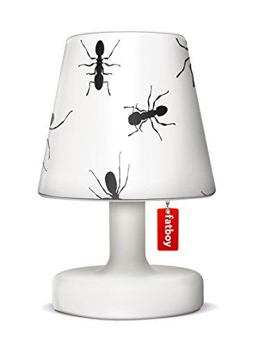 Fatboy Edison The Petit lámpara de mesa con Fatboy lámpara pantalla Cooper cappie Ant–Perfecta batería LED Lámpara para el área de en Y Exterior
