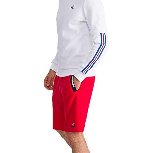 Le Coq Sportif ESS Shorts Regular Nr. 3 M Pur Rot – Shorts für Herren L Pur Rouge (rot)