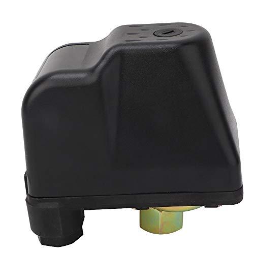 Interruptor de control de presión de bomba de agua KRS-5 3/8 NPT 380V Controlador de interruptor de presión eléctrico trifásico 15PSI-80PSI Interruptor de control de presión ajustable