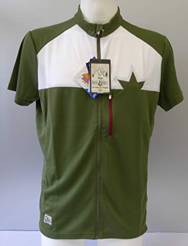 NEU RayM. Short Sleeve Bike Jersey Maloja Size XXL Herren Trikots Dunkel Oliv