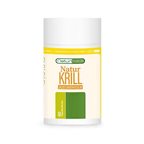 Único Aceite de Krill Puro + EPA/DHA + Astaxantina Bioasimilado | Regula los niveles de colesterol y triglicéridos | Acción cardio-protectora, antioxidante y antiinflamatoria | 60 cápsulas blandas