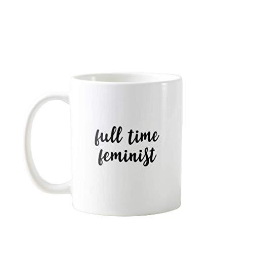 N\A Tazas DE CAFÉ PORTÁTILES Premium DE 11OZ Divertidas - Feminista DE Tiempo Completo Hombres, Mujeres, MAMÁ, PAPÁ, Maestro, Hermano O Hermana # 6408