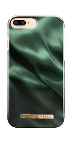 iDeal Of Sweden - Cover per Cellulare iPhone 8 Plus / 7 Plus / 6 Plus / 6s Plus (Emerald Satin)