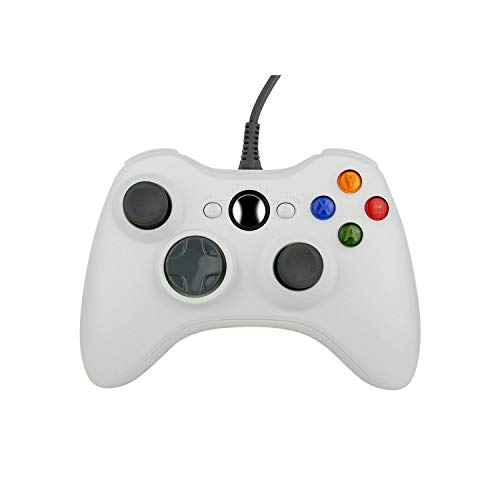 Telefon Game Controller | Gamepad USB Wired Controller für Microsoft für Xbox Slim 360 für PC für Windows7 Joystick Game Controller-White-