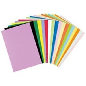 (業務用20セット) リンテック 色画用紙/工作用紙 【八つ切り 100枚×20セット】 ひまわり NC318-8 ds-1740995