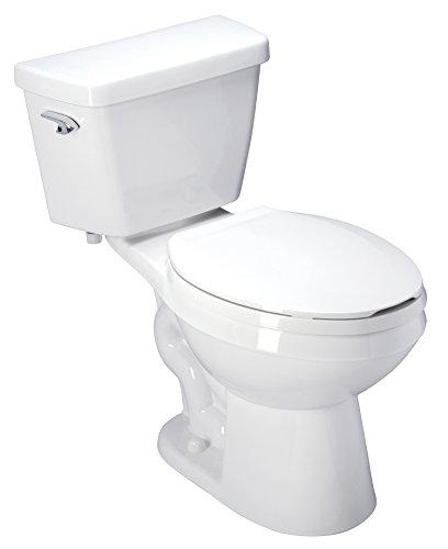Zurn Z5551 ADA, Elongated, 3' HPT Performance, Siphon Jet, 1.6 gpf Two-Piece Toilet