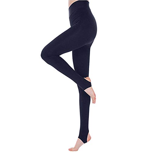 riou Pantalón Deportivo de Mujer Cintura Alta Elásticos Polainas Leggings Mallas para Running Training Fitness Estiramiento Yoga y Pilates Medias Deportivas