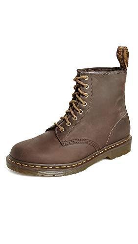 Dr. Martens Unisex 1460 Crazy Horse Boots, Brown, 13 Women/12 Men