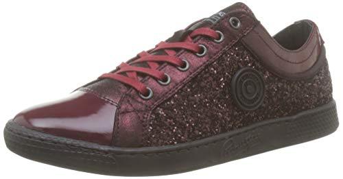 Pataugas Damen Joy/g F4e Sneaker, Rot (Prune 603), 38 EU