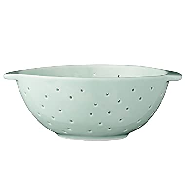 Bloomingville A21100604 Mint Green Ceramic Olivia Colander