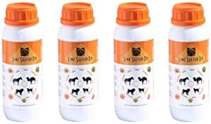 Classic's Lime Sulfur Dip (4, 8 and 16 fl oz) Pet Care and Veterinary Treatment Against Ringworm, Mange, Lice, Flea, Itchy and Dry Skin - Xtra Strength - Safe for Dog, Cat, Puppy, Kitten, Horse