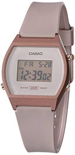 Casio Reloj deportivo de cuarzo para mujer con correa de resina, r21 (Modelo: LW-204-4ACF), Rosa/Rebel Fun, Unitalla