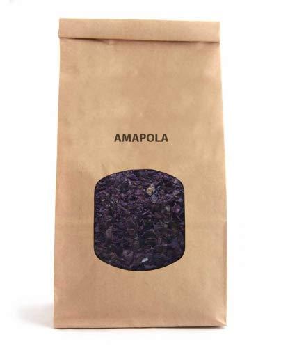 Flores de Amapola 70g Papaver Rhoeas Flor de Amapola para Tisana e Infusion
