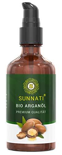 Sunnati® Bio Arganöl kaltgepresst für Haut, Haare & Nägel Arganöl Kosmetik 100ml