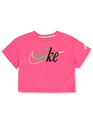 Nike - Camiseta corta para niña - Rosa - 6X