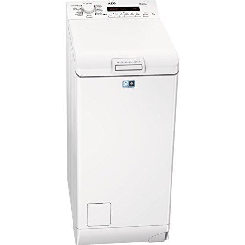 AEG L72270TL Waschmaschine Toplader / sparsamer Waschautomat mit Mengenautomatik / Energieklasse A+++ (175 kWh/Jahr) / Waschmaschine mit 7 kg ProTex-Trommel / automatische Waschmitteldosierung / weiß