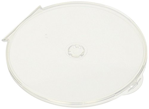 StarTechDeals 100-Pack Round Clamshell CD DVD Cases with Lock