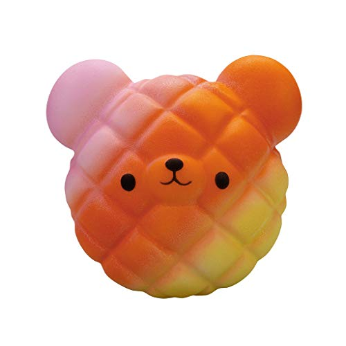 LianMengMVP Juguetes Compresivos, Squishies Kawaii Juguetes Excremento Oso Animales Squishy Squeeze Toy Slow Rising Decompression Toys 10*9cm