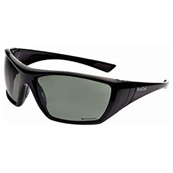 Gafas de seguridad Bollé Hustler polarizadas en color negro ...