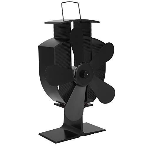Kamin-Lüfter, stummstummelöberleisteter Herd Sicherheitsfaktor aus Aluminiumholzbrenner Kamin für die Wärmeverteilung