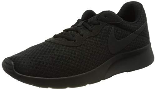 Nike Herren Tanjun Laufschuhe, Schwarz Black Black Anthracite, 44 EU
