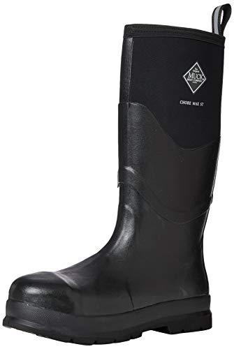 Muck Boots Chore Max S5, Stivali per lavori industriali Unisex-Adulto, Nero, 47 EU