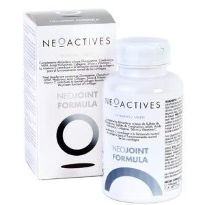 NeoJoint Formula   Con Sulfato Glucosamina y Condroitina, MSM, Ácido Hialurónico, Colágeno, Silicio y Vitamina C   Para formación de colágeno y funcionamiento normal de cartílagos   30 Capsulas