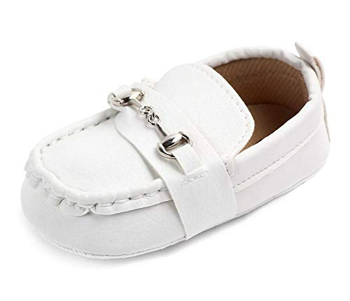Infant Boys White Shoes