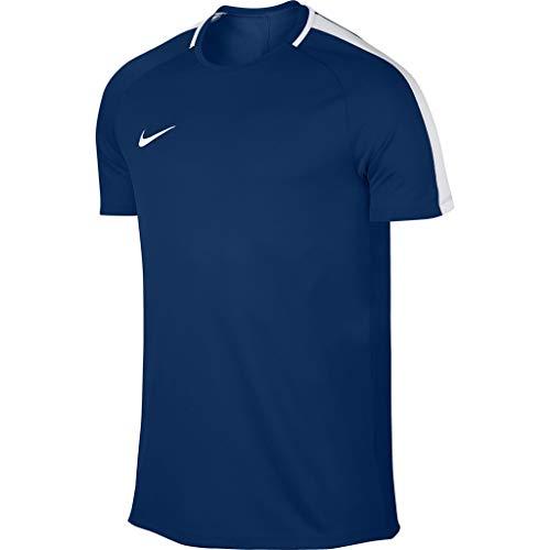 Nike Herren Dry Academy Kurzarm-Shirt, Blue Jay/White, XL