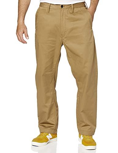 G-STAR RAW Bronson Loose Chino Pantalon, Marron (Antelope 9469-240), 30W / 32L para Hombre