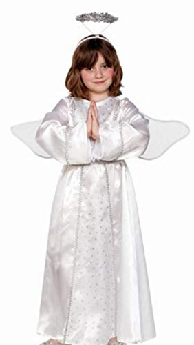 Fyasa 706359-T03 - Disfraz de ángel para niños de 10 a 12 años, Multicolor (Talla M)