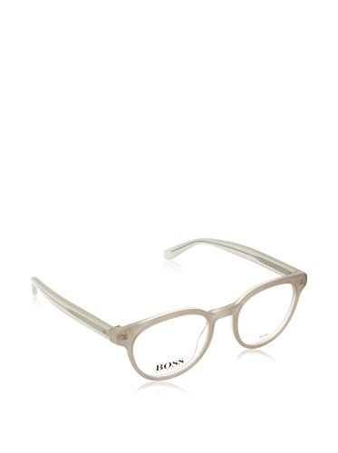 Hugo Boss BO-0218-EZE-17-52-17-140 Orange Brillengestelle BO-0218-EZE-17-52-17-140 Oval Brillengestelle 48, Weiß