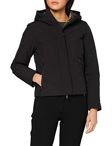 Canadian Classics Damen Jacke Soft Zip WR Bio Giacca, Black, 44 (XL (It50) Donna