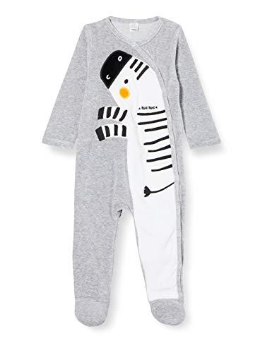 Tuc Tuc Pelele TUNDOSADO Stripes and Dots Mamelucos para bebés y niños pequeños, Gris, 9-12M