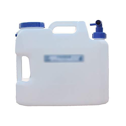 MNSSRN Cubo de Agua Potable Puro del cucharón de Agua al Aire Libre 18l, Cubo de Almacenamiento de Agua de Grado alimenticio PE, Adecuado para la Familia, Camping, Senderismo
