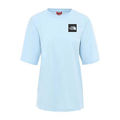 The North Face Camiseta BF Fine Azul Mujer