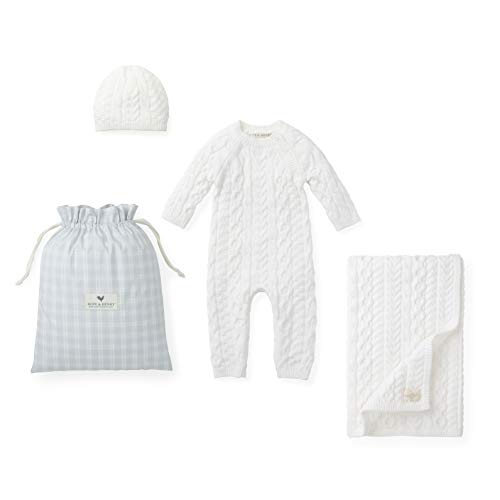 Hope amp Henry Layette Cable Knit Sweater Set