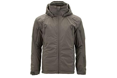 Carinthia MIG 4.0 Jacket 2019 - Winddichte, Wasserabweisende Winter-Jacke dick gefütterte, Ultra leichte Thermo-Jacke mit Kapuze (Oliv, L)