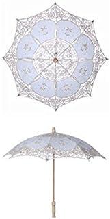 Loosnow Bridal Lace Umbrella Fashion Women Parasol Decoration for Wedding Party Photography