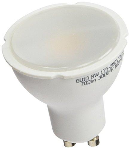 A2BC LED Lighting Bombilla LED GU10, 8 W, Blanco Cálido 3000k, 10, 710