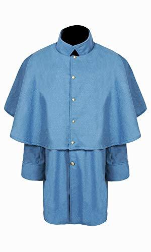 Civil War CS Sky Blue Enlisted Officer's Great Coat (48)