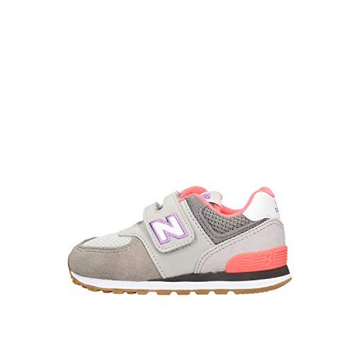 New Balance Kinderschuhe - Sneakers IV574SOC Grey pink, Größe:26 EU