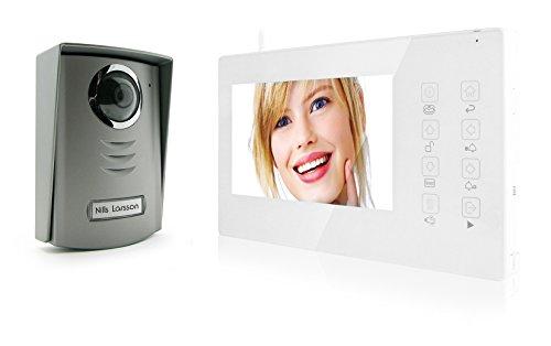Avidsen 112124 - De color inalámbrica de vídeo portero automático