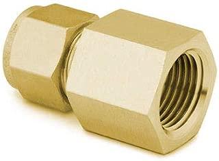 1//4 x 3//16 Size Midland 18-077LF Lead Free Brass Reducing Compression Union