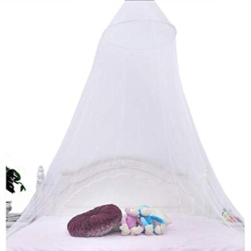 Kunhe Jumbo Mosquito Net for Bed Suitable for Both Indoor and Outdoor Use, Queen Size, White